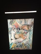 "William De Kooning ""Woman II"" Abstract Expressionist 35mm Art Slide"