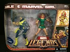 Marvel Legends Cable Marvel Girl 2-pack X-Force X-Men  Walmart Exclusive