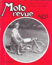 MOTO REVUE . N° 1562 . 21 octobre 1961 . Au guidon d' une Aermacchi Ala Verde .