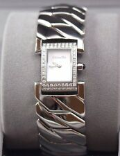 NEW Christian Dior Paris Women's Watch ~ ART DECO, DIAMONDS ~ Retails $1,500