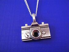 "FREE GIFT ** ANTIQUED SILVER ""Camera"" PENDANT WITH 16""  NECKLACE"