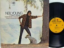NEIL YOUNG - Everybody Knows This Is Nowhere LP (2nd US Issue on REPRISE, no WEA