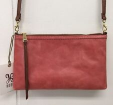 Hobo Darcy Coral Crossbody Purse Genuine Leather Handbag Bag New With Tags