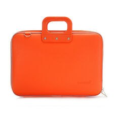 "Bombata - Orange Classic 15.6"" Laptop Case/Bag with Shoulder Strap"