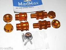 YY-EXTENDED WHEEL ADAPTOR CONVERSION KIT 24MM HEXES MADMAX HPI KM ROVAN BAJA 5T