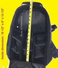 FULL SIZE PADDED BACKPACK CASE BAG =  CAMERA NIKON SLR D40 D50 D60 D70 D80 D90