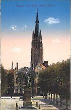 AK - CPA - Bruges - La Place Simon Stevin Brugge - Editeur Jules Nahrath & Cie.