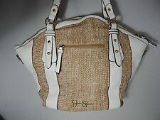 JESSICA SIMPSON - Shoulder Handbag - White & Brown - Very Roomy