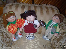 Lot Set 4 Porcelain Danbury Mint Cabbage Patch Kids Dolls *1;;