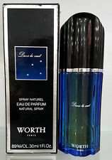 Worth Dans La Nuit Eau de Parfum 30ml Spray - Vintage New & Rare