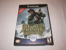 Medal of Honor Frontline (Nintendo GameCube) Original Release Complete Nr Mint!