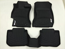 WeatherTech Custom Fit FloorLiner - Subaru Impreza / WRX / STI - 2012 - Black