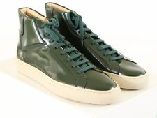 NEW COMMON PROJECTS ORIGINAL VINTAGE HIGH Green Leather 42 EU