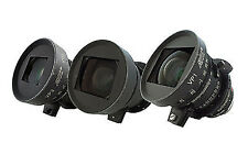 Zeiss Variable Prime PL Mount 3 Lens Set T2.2 16-30mm, 29-60mm & 55-105mm