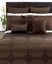 "Hotel Collection Meridian Sepia 12"" x 20"" Decorative Pillow Beaded"
