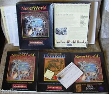 NEVERWORLD, A Lifetime Experience - FANTASY ROLEPLAYING GAME -BOXED SET-COMPLETE