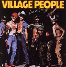 ROCK VILLAGE PEOPLE LIVE AND SLEAZY CASSETTE TAPE LIGHTLY USED