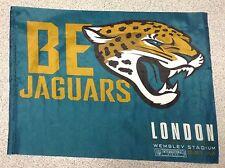 JACKSONVILLE JAGUARS  v Buffalo Bills NFL WEMBLEY  2015 FAN FLAG