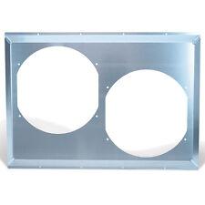 """Flex-a-lite 535288 Aluminum Fan Shroud Fits Dual 12"""" Fans 28 x 19.5"""