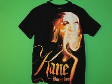 2007 WWE Kane Burnt Soul Men's Size M Medium Pro Wrestling Black T Shirt