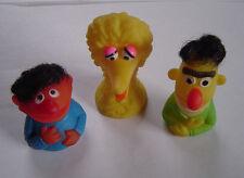 Vintage Sesame Street Bert & Ernie & Big Bird Finger Puppets