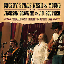 CROSBY, STILLS, NASH & YOUNG New 2016 UNRELEASED 1988 REUNION LIVE CONCERT CD
