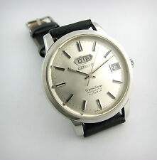 Vintage Watch...CITIZEN CRYSTAL SEVEN....Automatic...Day&Date..70's...Mint!!