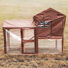 HUTCH COVER FOR PISCES PALERMO RABBIT HUTCH RUN PROTECT WEATHER PROOF SHELTER