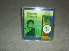 1997 Nelsonic Green Giant Pillsbury Advertising Character Watch in Original Box