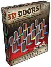 Zombicide Black Plague 3D Doors Board Game CMON Action Adventure Survival Theme