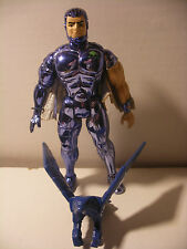 RARE Kenner 1986 SILVERHAWKS figure STEELWILL & STRONGHOLD Complet telepix