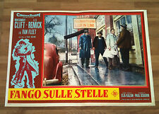 FANGO SULLE STELLE fotobusta poster Wild River Montgomery Clift Lee Remick 1960