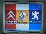 PANASONIC CF29 TOUGHBOOK RENAULT CITROEN PEUGEOT DEALER FRENCH CAR DIAGNOSTICS