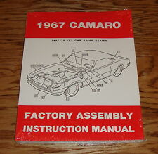 1967 Chevrolet Camaro Factory Assembly Manual 67 Chevy