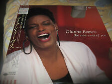 DIANNE REEVES THE NEARNESS OF YOU LP -MADE IN JAPAN -1988