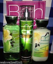 Bath & Body Works Pear Blossom Fine Fragrance Mist Spray Shower Gel Wash Lotion