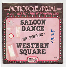 "45 tours THE SPOETNIKS Vinyl 7"" SALOON DANCE - WESTERN SQUARE -PASSE PARTOUT 232"