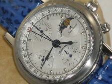 "JEAN MARCEL . W/SWISS VALJOUX 7751 MOVEMENT"" HARD TO FIND 160.145"