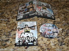 Apb Reloaded (PC) Game Windows Replacement Disk - No Key