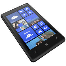New Nokia Lumia 820 8GB Black Unlocked Smartphone SB