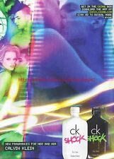 CK Shock Calvin Klein Fragrance 2012 Magazine Advert #7202
