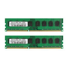 100%New 8GB 2x4GB DDR3 1333MHz PC3-10600U Dimm Desktop AMD Memory RAM Kit 8G 8GB