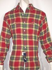 Polo Ralph Lauren Soft Cotton flannel Twill plaid Workshirt size large NWT