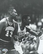 Bill Russell vs. Wilt Chamberlain signed 8x10 Celtics photo (Rich Altman COA)