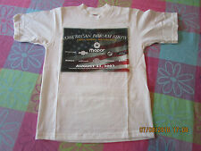2002 American Dream Show Cars Trucks Motorcycles white youth T-Shirt sz. 6/8 NOS
