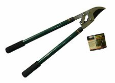 "Telescoping Bypass Lopping Shear 26"" to 37-1/2"" cushion grips brush limbs cut"