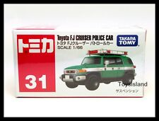 TOMICA #31 TOYOTA FJ CRUISER POLICE CAR 1/66 TOMY 2015 NOV NEW MODEL DIECAST CAR