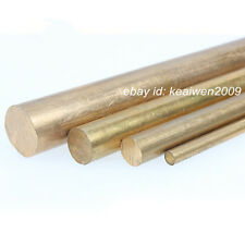 5pcs Φ10mm x 100mm H62 Brass Round Rod D10mm x 100mm long Solid Lathe Bar cut