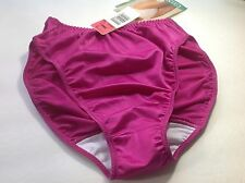 Women Panties,Bikinis GELMART Size XL. X Large Purple fuchsia Satin Soft