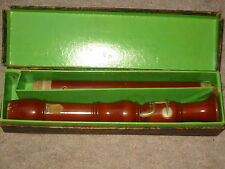 "Nice old German recorder flute ""F- Alto 1722 Marma"""